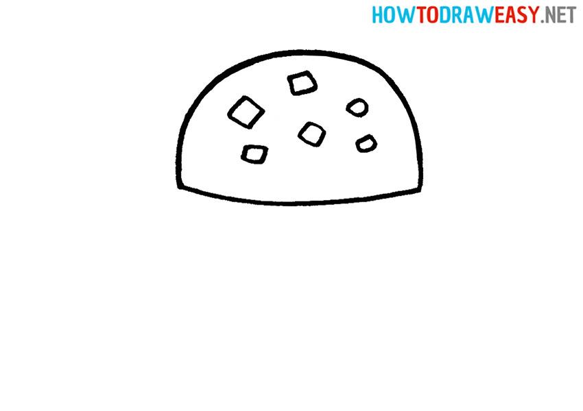 Learn Drawing a Krabby Patty