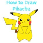 How to Draw Pikachu Easy