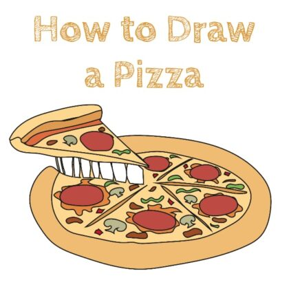 Pizza How to Draw