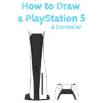 How to Draw a PlayStation 5