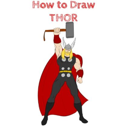 Thor How to Draw