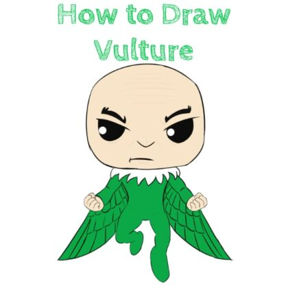 Vulture from Spiderman How to Draw