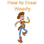 How to Draw Sheriff Woody