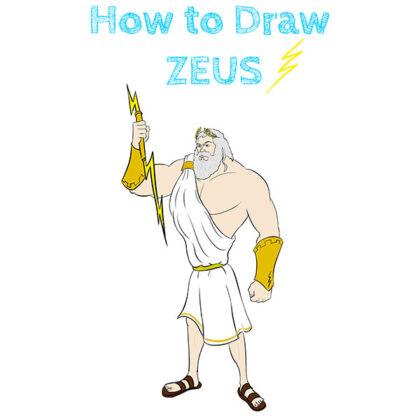 Zeus How to Draw