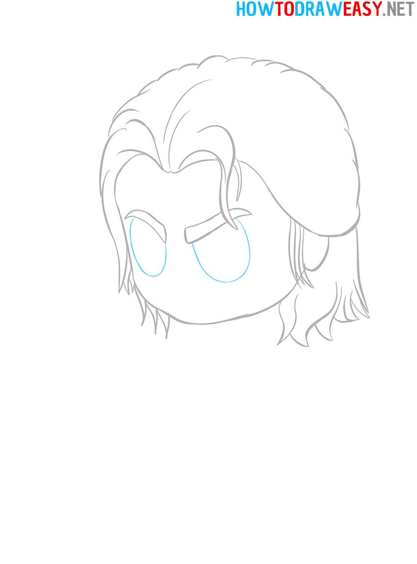 Chibi Avengers Drawing