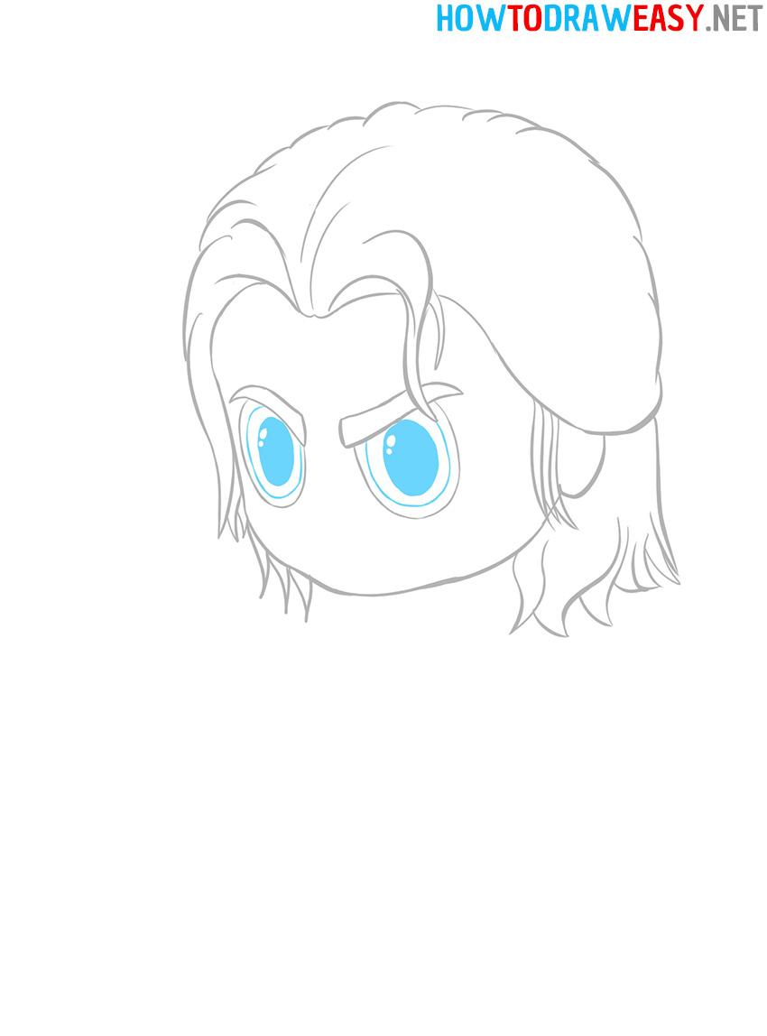 Chibi Eyes Drawing