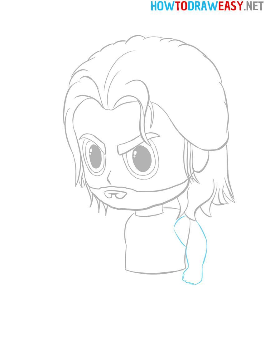 Chibi Marvel Drawing