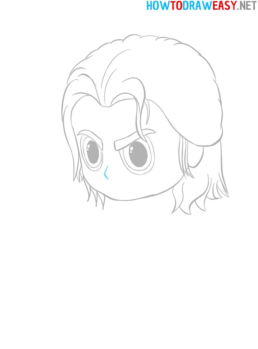 Chibi Nose Drawing