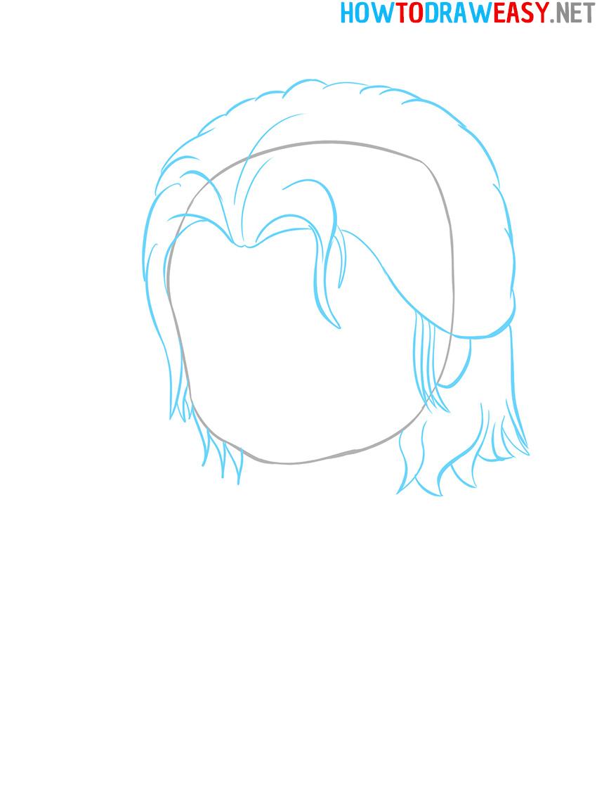 Cute Thor Drawing
