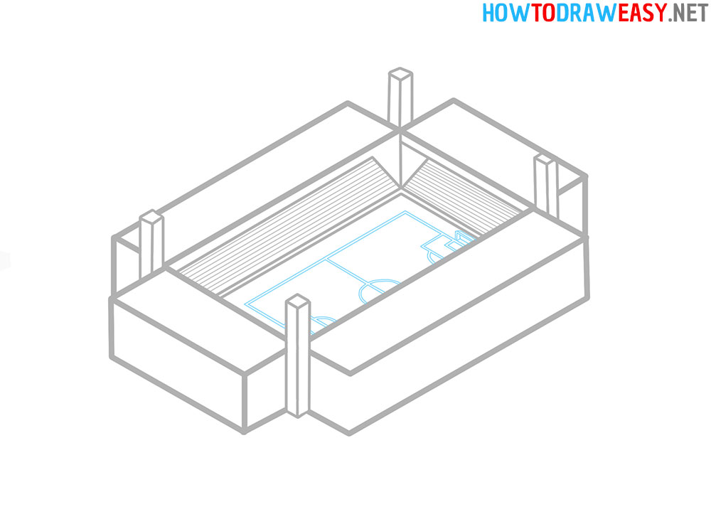 Drawing Tutorial Stadium