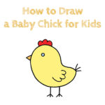 How to Draw a Baby Chick for Kids