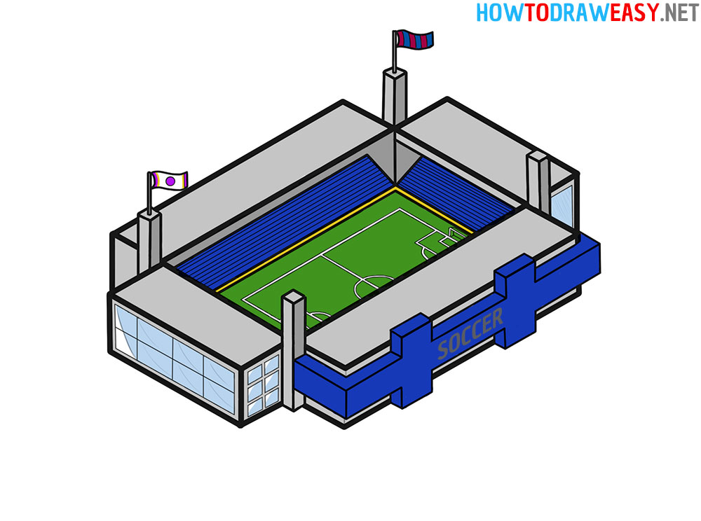 How to Draw a Stadium