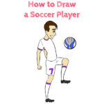 How to Draw a Soccer Player Easy