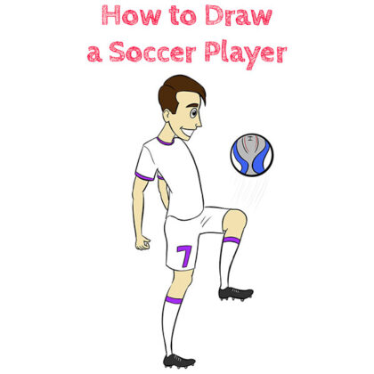 Soccer Player How to Draw