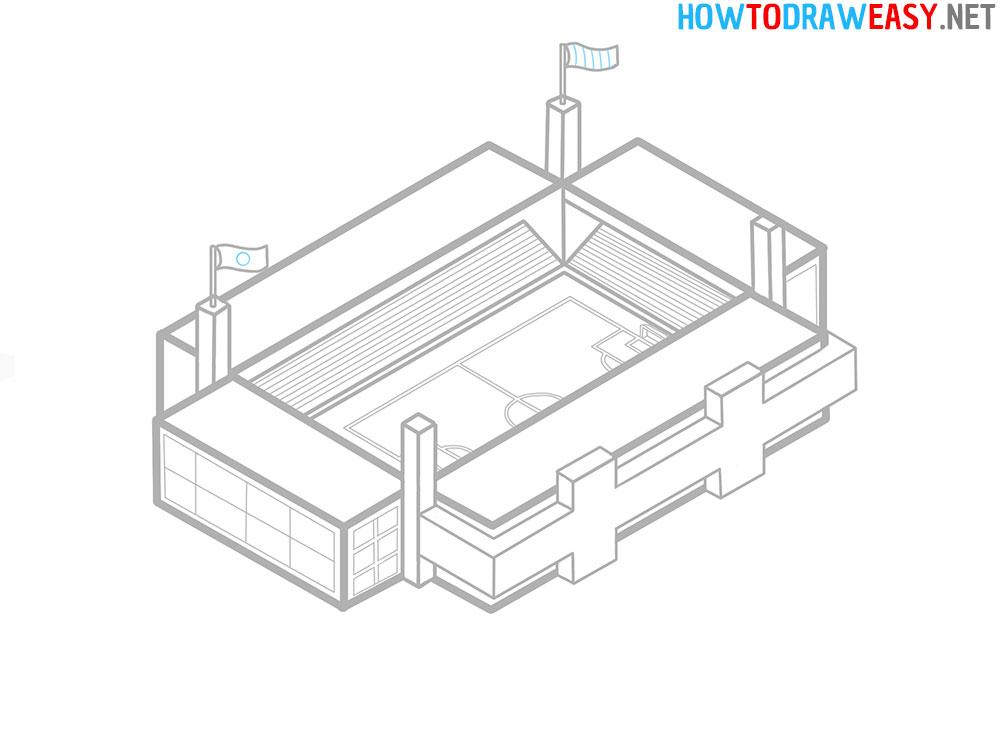 Stadium Drawing Tutorial