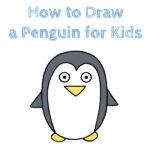 How to Draw a Penguin for Kids