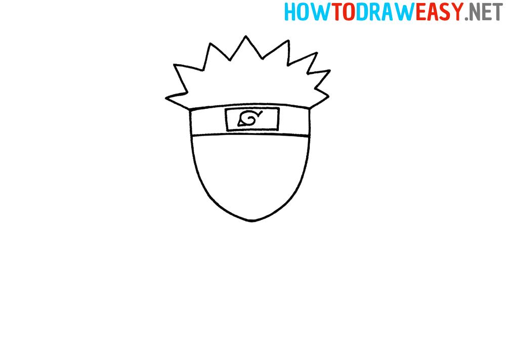 Chibi Naruto Drawing