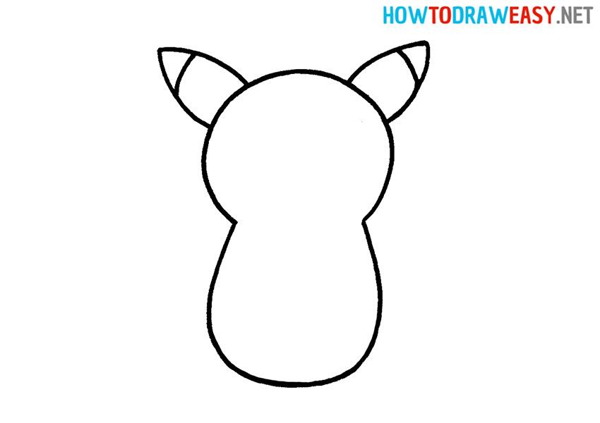 Easy Drawing Pikachu