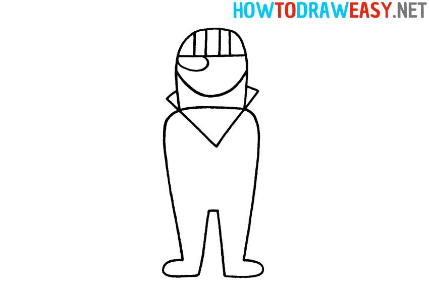 Fortnite Character Drawing