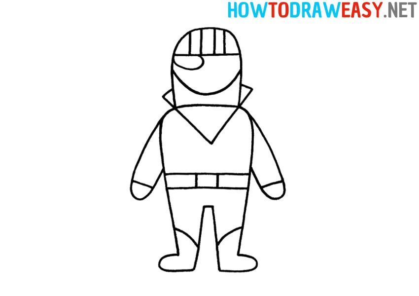 How to Draw Burnout Skin Fortnite