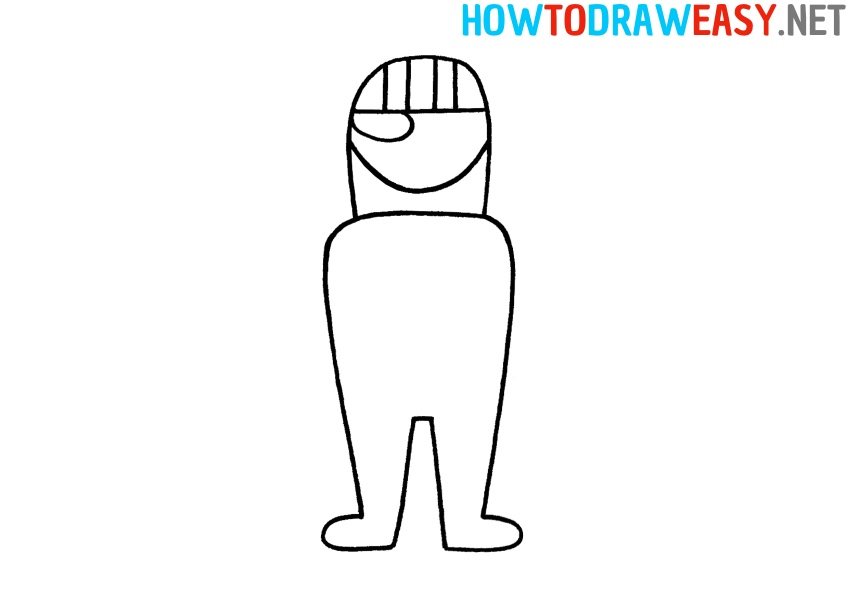 How to Draw Character from Fortnite