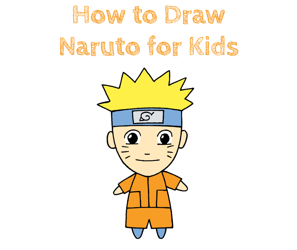 How to Draw Chibi Naruto for Kids