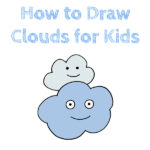 How to Draw Clouds for Kids