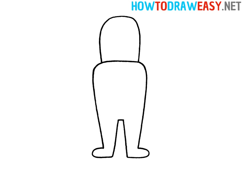 How to Draw Fortnite Character Easy