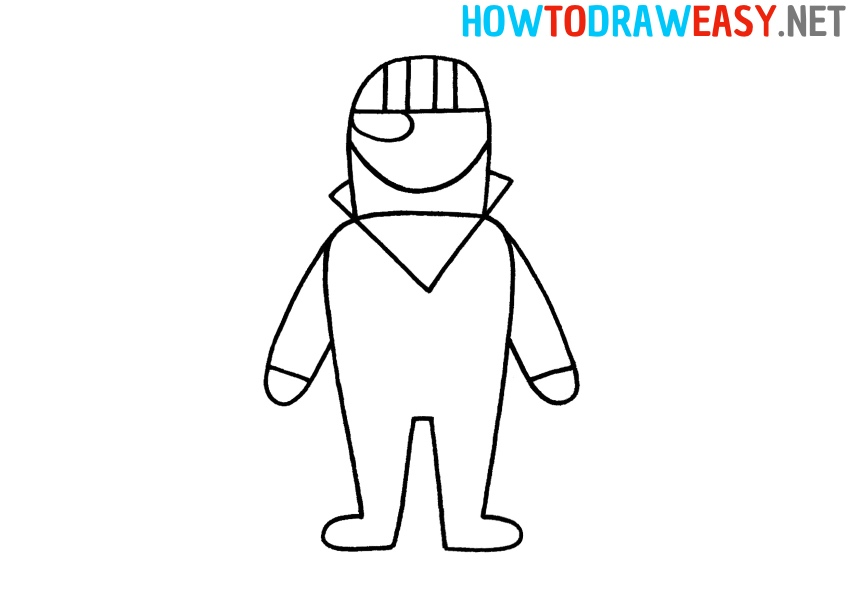 How to Draw Fortnite Character for Kids
