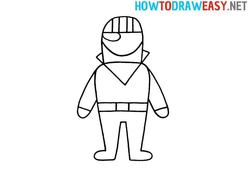 How to Draw Fortnite Character