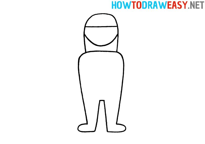 How to Draw Fortnite Helmet