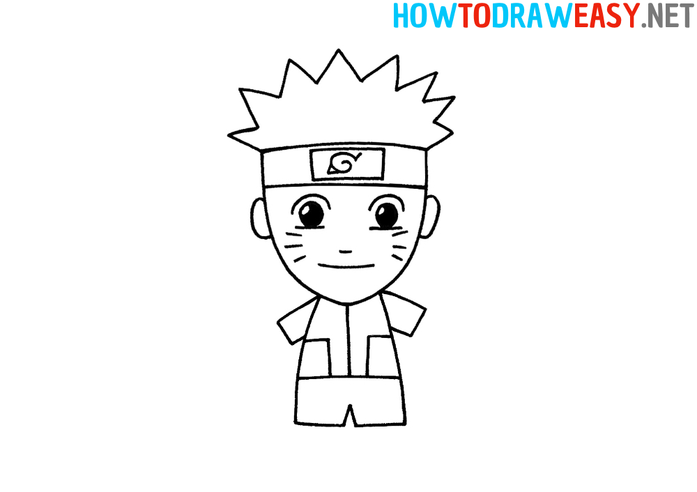 How to Draw Naruto Easy
