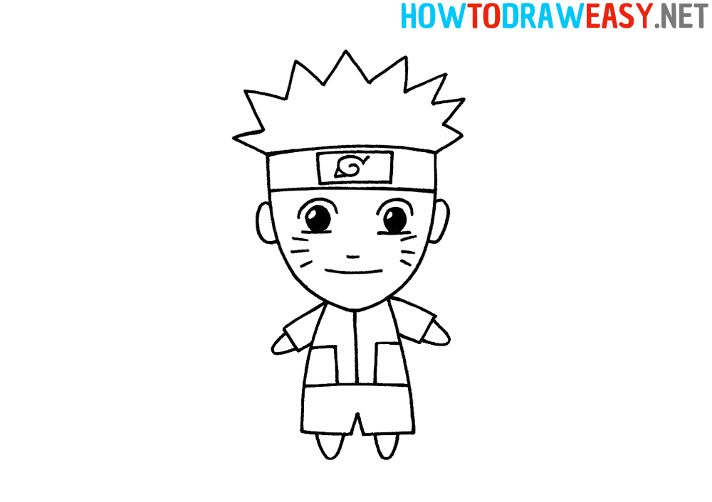 How to Draw Naruto for Beginners