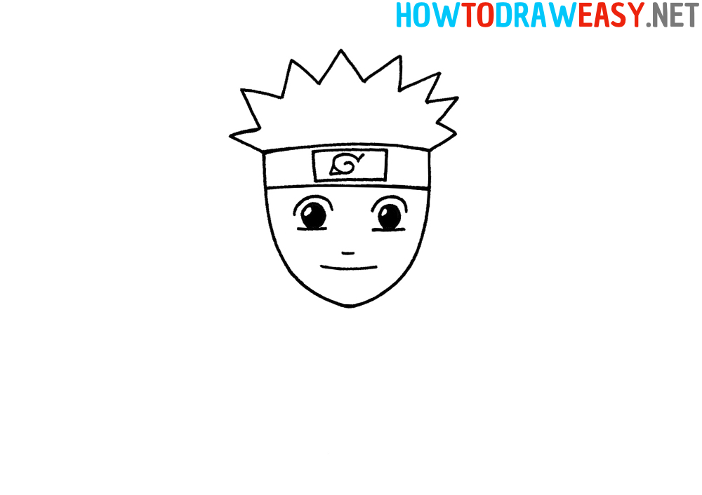 How to Draw Step by Step Naruto