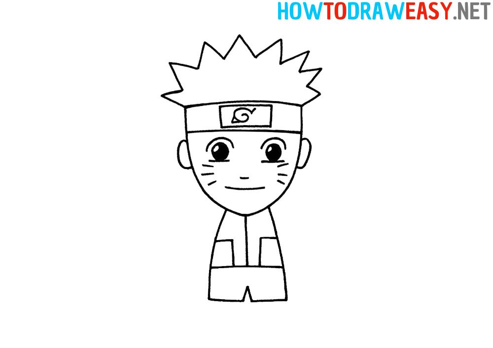 Naruto Drawing Tutorial