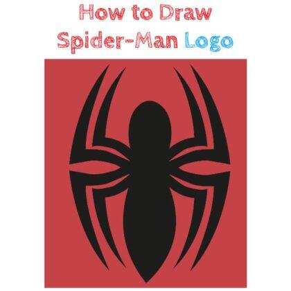 Spiderman logo how to draw