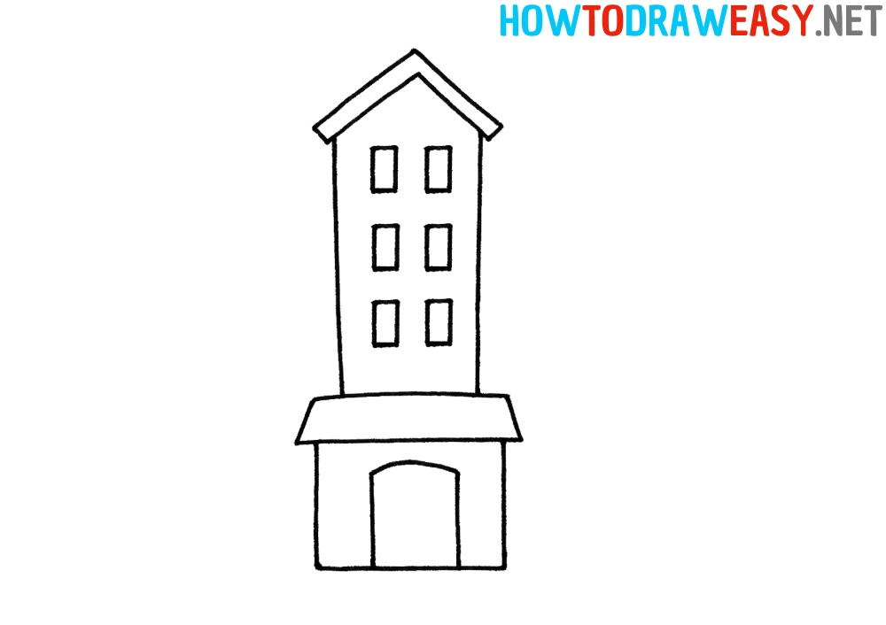 Building Step by Step Drawing