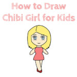 How to Draw a Chibi Girl for Kids