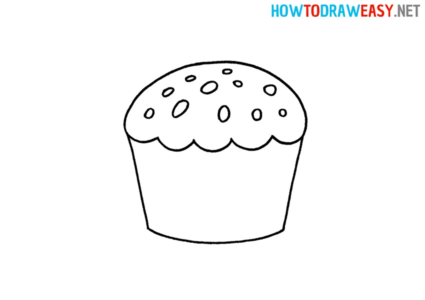 Cupcake How to Draw