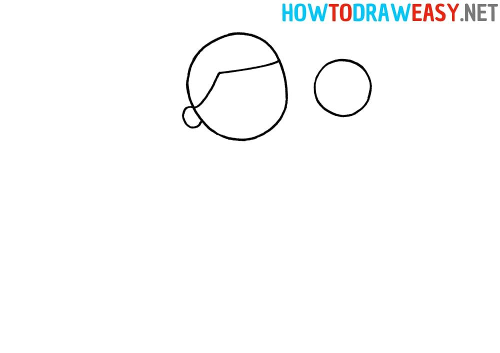 Easy Footballer Drawing Tutorial