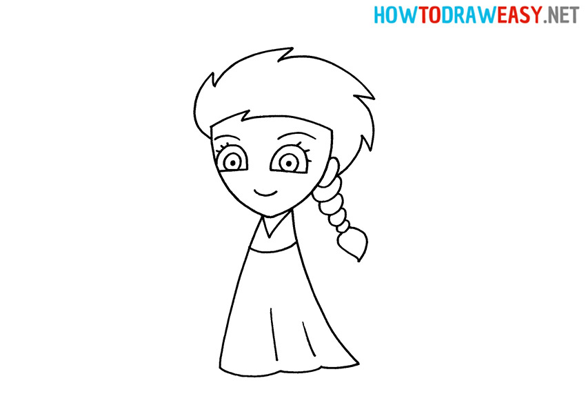 Elsa How to Draw