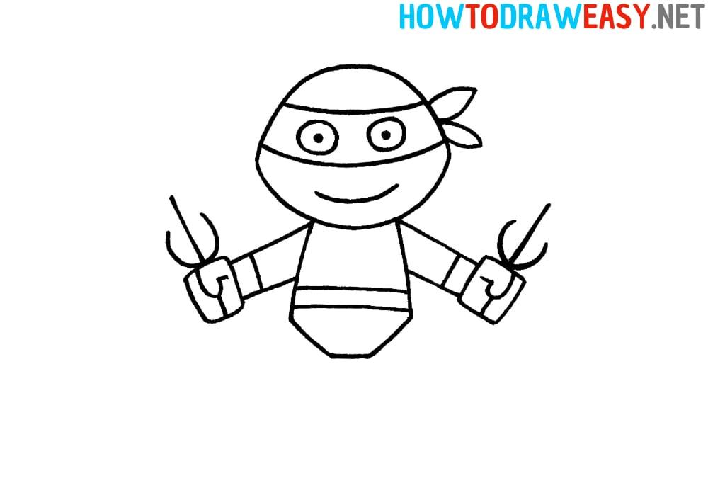 How to Draw Teenage Mutant Ninja Turtles