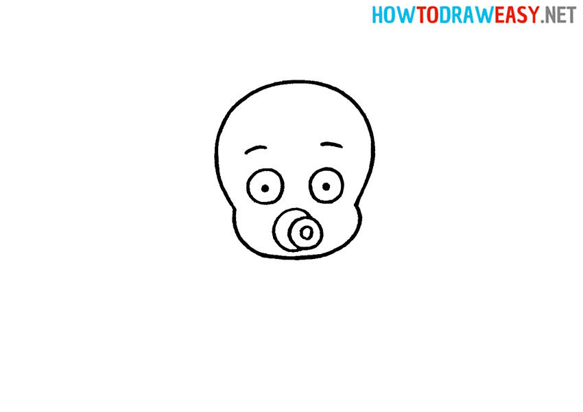 How to Draw a Baby Face