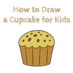How to Draw a Cupcake for Kids