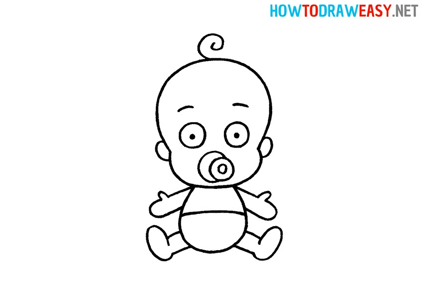 How to Draw a Cute Baby