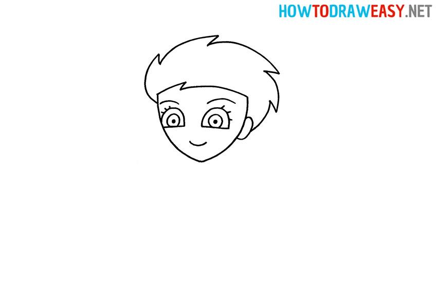How to Draw a Princess Elsa