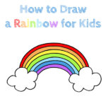 How to Draw a Rainbow for Kids