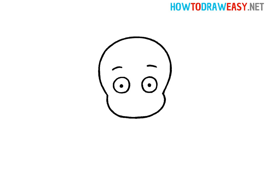 How to Draw a Simple Baby