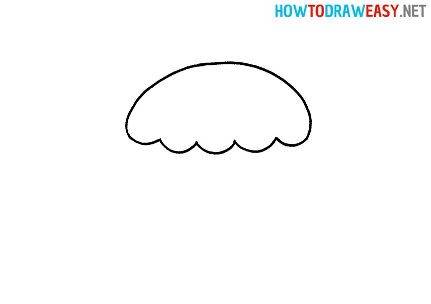 How to Draw a Simple Cupcake