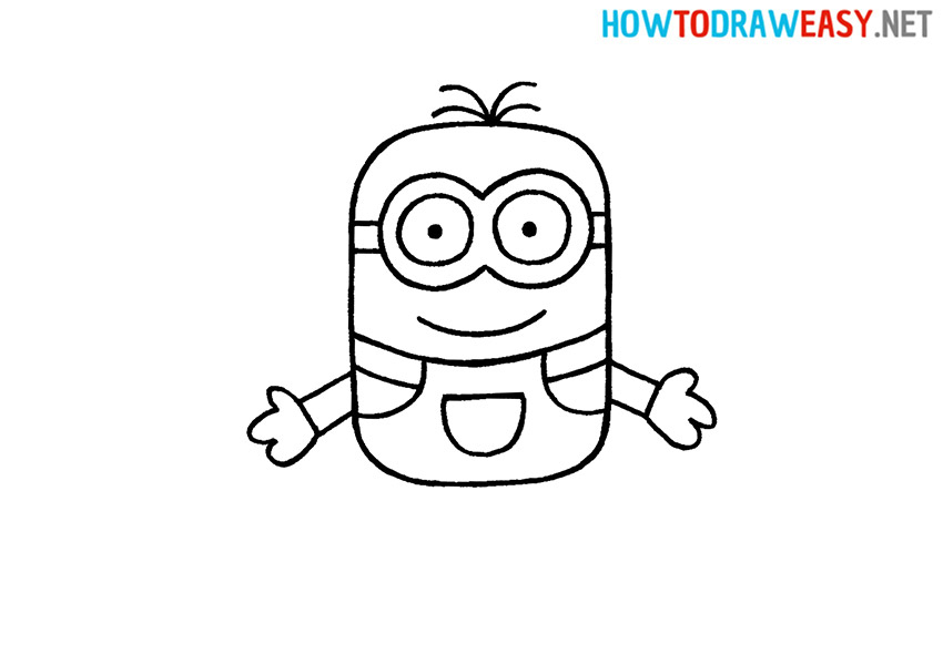 How to Draw a Simple Minion